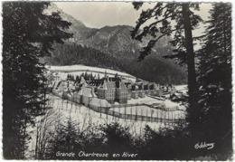 38 Couvent De La Grande Chartreuse  En Hiver - France