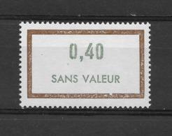 Fictif N° 181 De 1969 ** TTBE - Cote Y&T 2019 De 1,00 € - Phantomausgaben