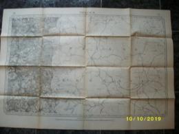 Carte Topographique De Vielsalm (Wanne - Bovigny - Beho - Commanster - Amel - Schönberg - Bleialf) - Topographical Maps