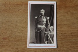 Cdv Cavalerie Second Empire Militaire   Officier  Supérieur Lancier  Par Beaudelaire à Strasbourg - Guerra, Militares
