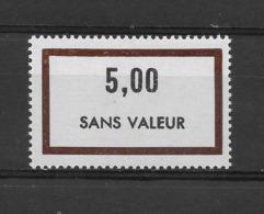 Fictif N° 186 De 1969 ** TTBE - Cote Y&T 2019 De 1,00 € - Phantomausgaben