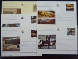 BELGIE BRIEFKAART BRUSSELSE METRO - Stamped Stationery