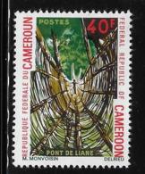Cameroun Cameroon 1971 Liana Bridge MNH - Cameroon (1960-...)