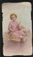 ANTICO SANTINO INNO A GESU' BAMBINO EDIT. GN 3176 FUSTELLATO IMAGE PIEUSE - Imágenes Religiosas