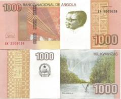 Angola 1000 Kwanzas 2012 (2017) UNC P-156 - Angola
