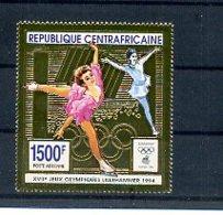 A23891)Olympia 94: Zentralafrika 1566 A** - Winter 1994: Lillehammer