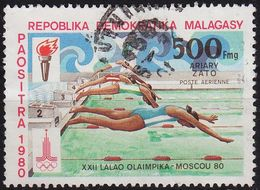 MADAGASKAR MADAGASCAR [1980] MiNr 0866 ( O/used ) Olympiade - Madagaskar (1960-...)