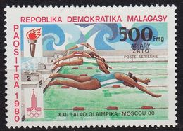 MADAGASKAR MADAGASCAR [1980] MiNr 0866 ( **/mnh ) Olympiade - Madagaskar (1960-...)