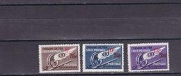 BELGIQUE 1946TR 291/293 GEVLEUGELD WIEL MET OPDRUK  Mi. 18/20 MNH** - Ferrocarril