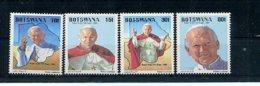 A24242)Johannes Paul II.: Botswana 439 - 442** - Päpste