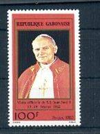 A24268)Johannes Paul II.: Gabun 816** - Päpste
