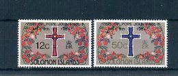 A24338)Johannes Paul II.: Salomon-Inseln 526 - 527** - Päpste