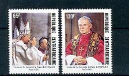 A24351)Johannes Paul II.: Zentralafrika 1142 - 1143** - Päpste