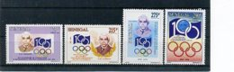 A24428)100 Jahre IOC: Senegal 1342 - 1345** - Olympic Games
