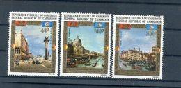 A24687)Kamerun 688 - 690** - Cameroon (1960-...)