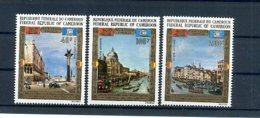 A24688)Kamerun 688 - 690** - Cameroon (1960-...)