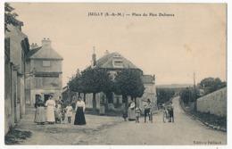 CPA - JUILLY (S Et M) - Place Du Père Defrance - Dammarie Les Lys