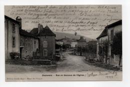 - CPA CHATENOIS (88) - Rue En Dessous De L'Eglise 1906 - Edition Claude Boyé - - Chatenois