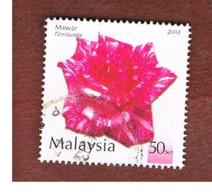 MALESIA (MALAYSIA)  -  SG 1123  -   2003  FLOWERS: FLORIBUNDA  -  USED ° - Malesia (1964-...)