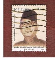 MALESIA (MALAYSIA)  -  SG 1125  -   2003  AL-HAJ, PRIME MINISTER  -  USED ° - Malesia (1964-...)