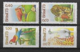 BRASIL - SERIE YVERT N° 1084/1087 ** MNH - COTE = 30 EUR. - ANIMAUX - Brazil