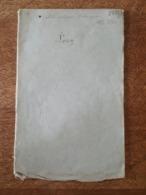 1877 Grenoble, Notice Géologique & Chimique Sur Les Pierres Propres à La Fabrication Des Chaux Hydrauliques & Ciments - 1801-1900