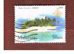 MALESIA (MALAYSIA)  -  SG 1151 -   2003 SIPIDAN ISLAND, SABAH  -  USED ° - Malesia (1964-...)