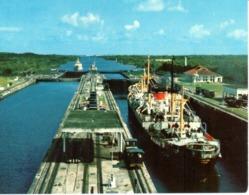 POSTAL   -EXCLUSAS DE GATUN DEL CANAL DE PANAMA - Postales
