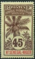 Haut Sénégal Et Niger (1906) N 12 * (charniere) - Ongebruikt