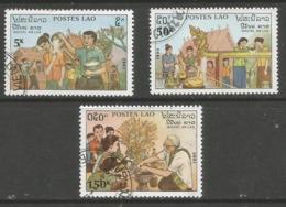 Laos - 1990 New Year   Sc 992-4 - Laos