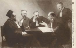 Tableaux -ref B816-arts -tableau -peinture -illustrateur -salon-peintre Mahudez Jacotin -avocats -avocat - Avoués - - Métiers