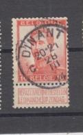 COB 118 Oblitération Centrale DINANT C - 1912 Pellens