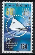 """Nle-Caledonie YT 994 """" Communauté Du Pacifique """" 2007 Neuf** - New Caledonia"""
