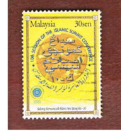 MALESIA (MALAYSIA)  -  SG 1164 -   2003 ISLAMIC SUMMIT CONFERENCE  -  USED ° - Malesia (1964-...)