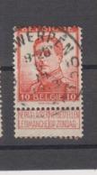 COB 118 Oblitération Centrale ANTWERPEN 10 - 1912 Pellens