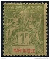 Martinique (1892) N 43 * (charniere) - Martinique (1886-1947)