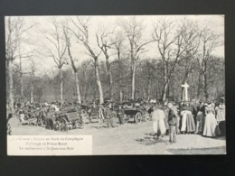 CPA Chasse à Courre En Forêt De Compiègne Numéro 3 Le Rendez-vous à St Jean Aux Bois - Chasse