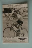 CYCLISME: CYCLISTE : JACQUES ANQUETIL - Ciclismo