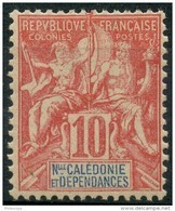 Nouvelle Caledonie (1900) N 60 * (charniere) - New Caledonia