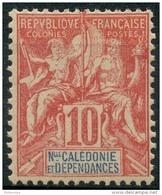 Nouvelle Caledonie (1900) N 60 * (charniere) - Neukaledonien