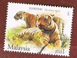 MALESIA (MALAYSIA)  -  SG 1205.1206 -   2004  ANIMALS  -  USED ° - Malesia (1964-...)