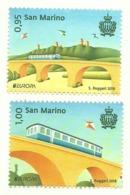 2018 - San Marino 2584/85 Europa - 2018