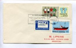 1919 PRIMER CORREO AEREO, BUENOS AIRES-SANTIAGO, CHILE 1979. ARGENTINA ENVELOPE - LILHU - Luftpost