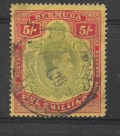 BERMUDA - YVERT N°116 OBLITERE - COTE = 22 EUR. - - Bermuda
