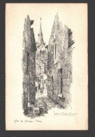 Jemeppe - Eglise De Jemeppe S/Meuse - Illustration Jean Müller - Seraing