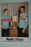 CYCLISME: CYCLISTE : RICK VAN LINDEN  Et  FELICE GIMONDI - Cyclisme