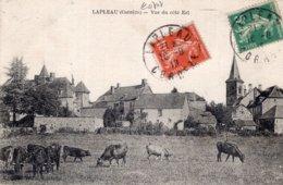 3882 Cpa Lapleau - Vue Du Côté Est - Autres Communes