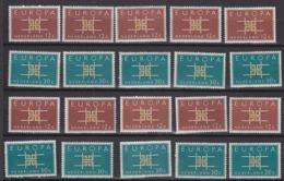 Europa Cept 1963 Netherlands 2v (10x) ** Mnh  (44937) - Europa-CEPT