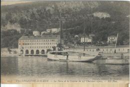 Alpes Maritimes : Villefranche Sur Mer, La Darse Et La Caserne Du 24e Chasseurs Alpins... - Villefranche-sur-Mer