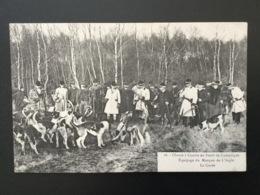 CPA Chasse à Courre En Forêt De Compiègne La Curée Numéro 16 - Chasse